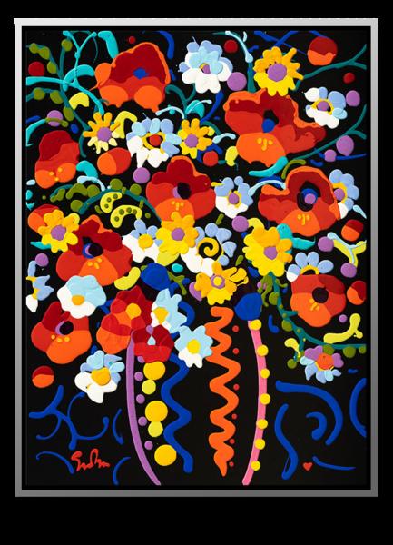 "Simon Bull Available Original Painting - ""Brilliant"""