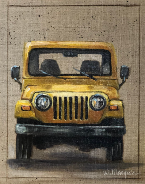Jeepster Greeting Card