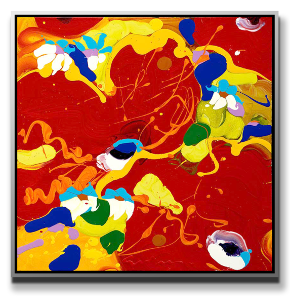 """Simon Bull Available Original Painting - """"Colors Of Love"""""""