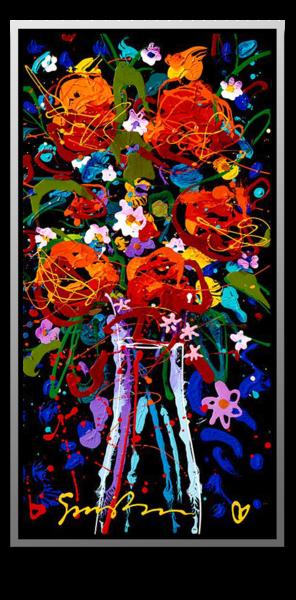 "Simon Bull Available Original Painting - ""July"""