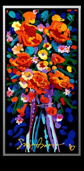 "Simon Bull Available Original Painting - ""Resonate"""