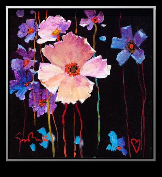 "Simon Bull Available Original Painting - ""Living Life To The Full I"""