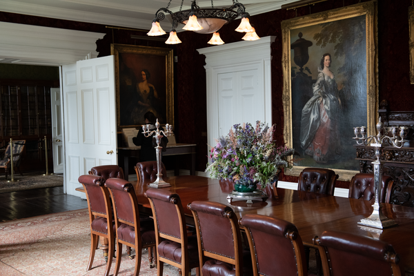 Dunvegan Castle Dining Room Skye Photography Art | Eric Hatch