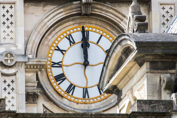 Dunedin Nz  Court Building Clock Photography Art | Eric Hatch