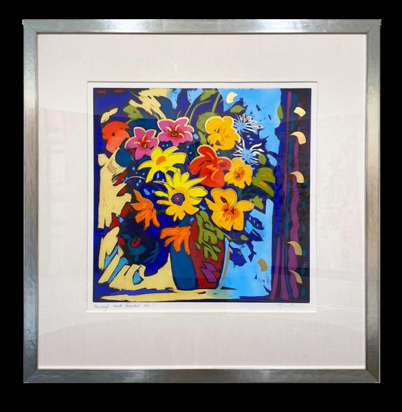"Simon Bull Available Original Painting - ""Always + Forever"""