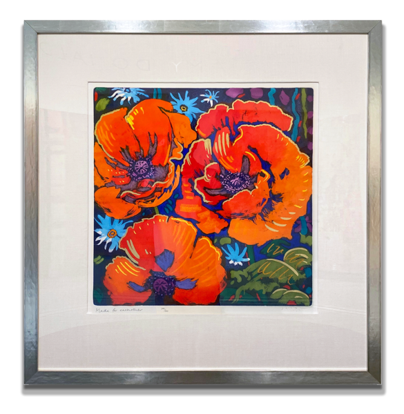 """Simon Bull Available Original Painting - """"Made For Each Other"""""""