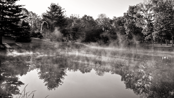 September Morning Pond Photography Art | Eric Hatch
