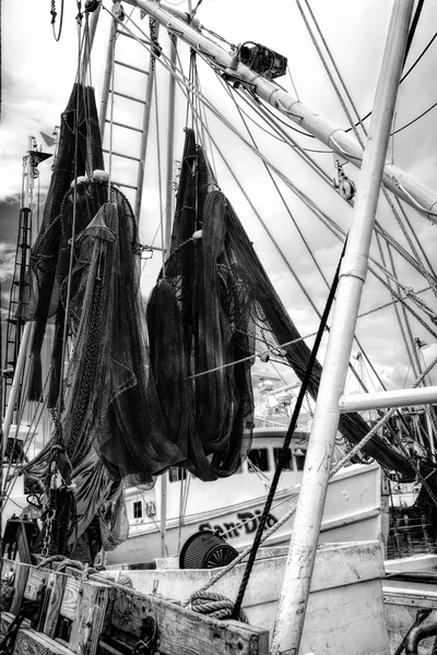 Drying Nets  Photography Art | Eric Hatch