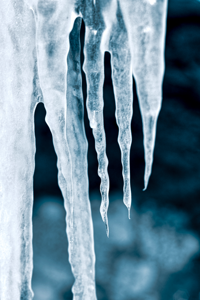 Aqua Icicles 3x2 V Photography Art | Eric Hatch