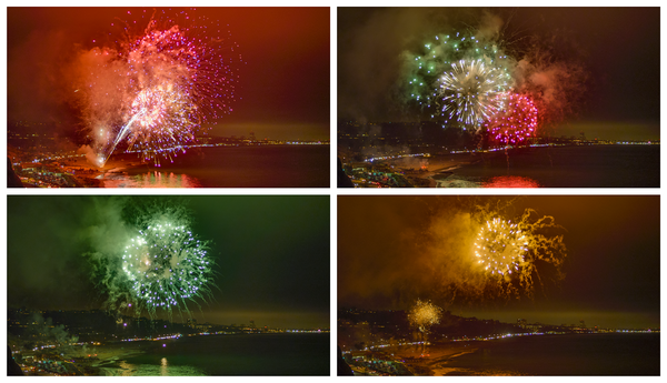 Rockets Red Glare   Polyptych Photography Art | Julian Whatley Photography