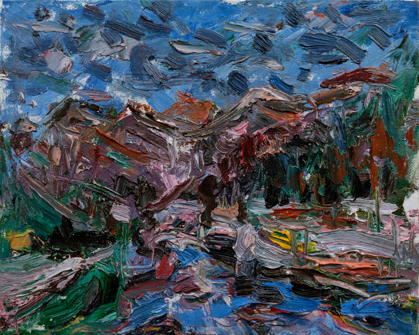 """Telluride Reflection"" Original Art | Daniel Kanow Fine Art"