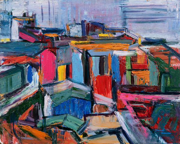 """Valpo"" Original Art | Daniel Kanow Fine Art"