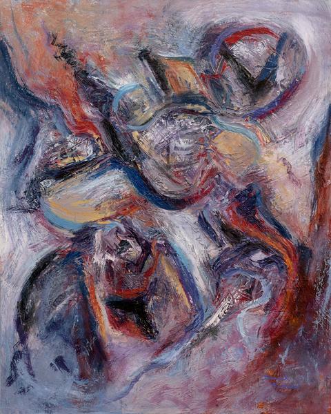 """Myself, My Mind"" Original Art   Daniel Kanow Fine Art"