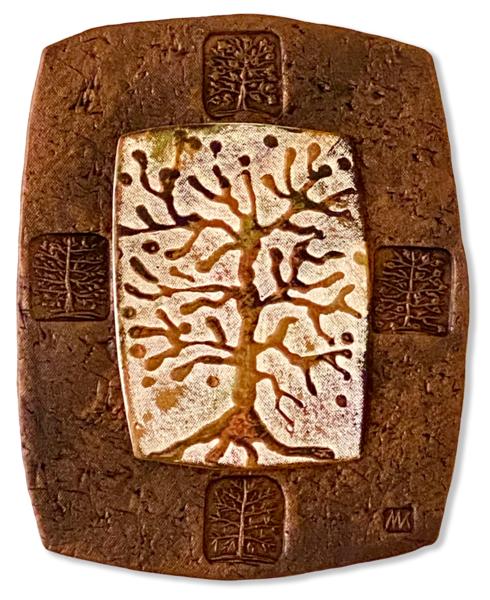 Tree Of Life I | Decorative Ceramic Art | KenarovART Inc