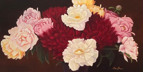 Peony Passion Art | Colleen Brown Studio