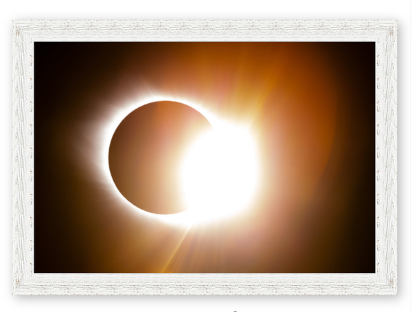 Solar Eclipse 2017 24x36 Photography Art | Phil Heim Photography