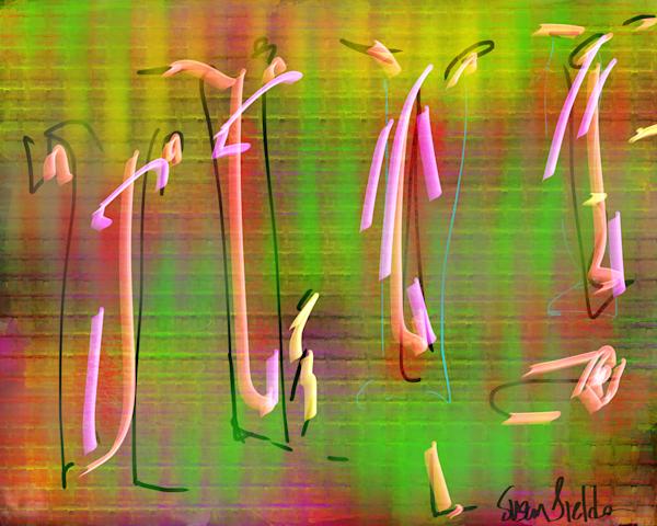 Dancing Flamingos Art | Susan Fielder & Associates, Inc.