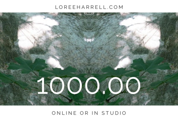 Loree Harrell $1000 Gift Card