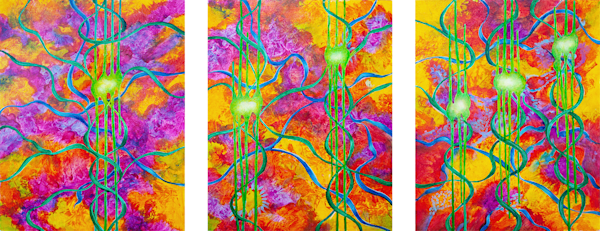 Sonata   Triptych Art | RPAC Gallery