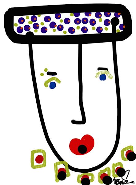 Mr. Glamour Pie Art | Susan Fielder & Associates, Inc.