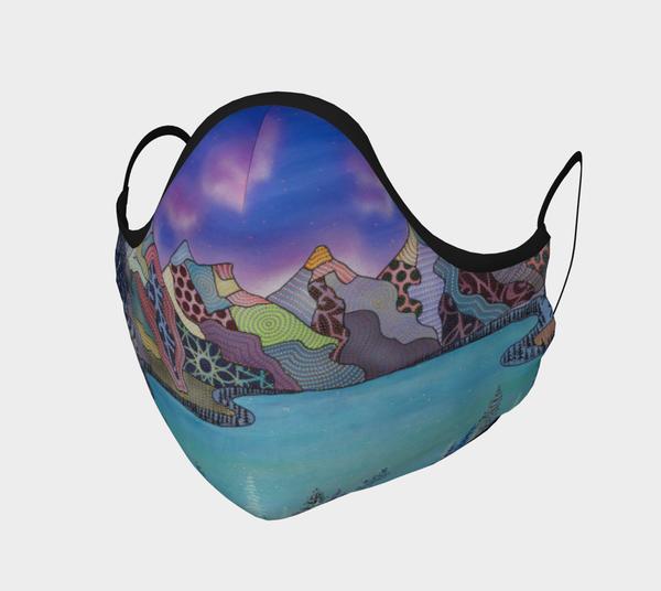 safety, covid-19, health, Moraine-lake, mountains-mask, mask, face-mask,