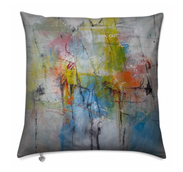 Pillow :  Fly Without A Net | stephanie visser fine art
