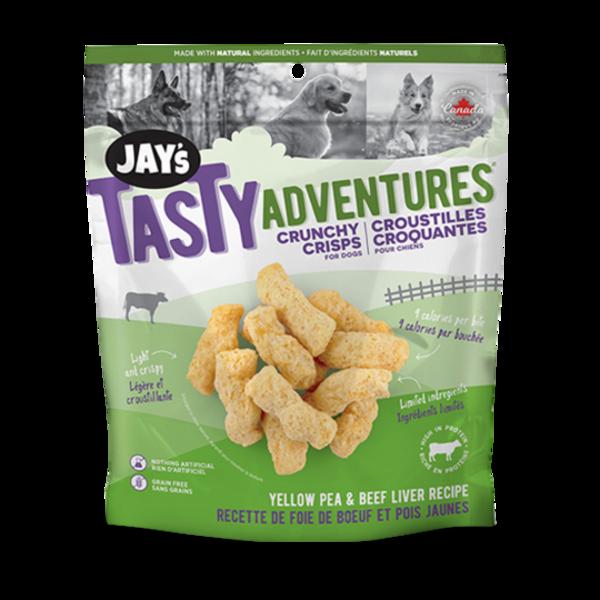 Jay's Tasty Adventures   Crunchy Crips Yellow Pea & Beef Liver Recipe | artloversgallery