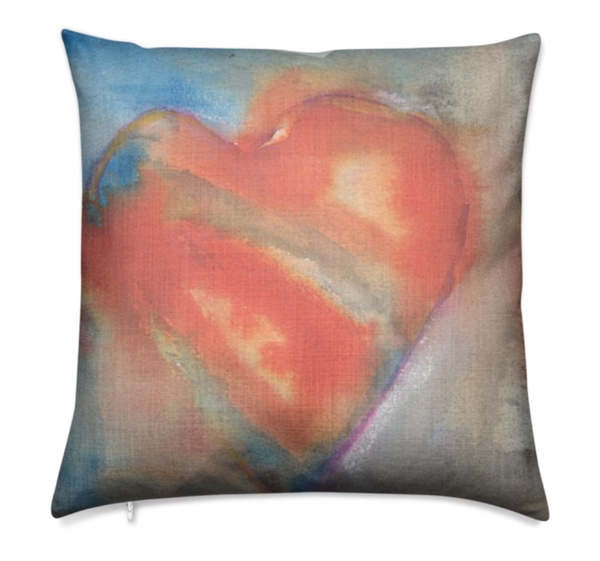 Pillow : Hearts 2 | stephanie visser fine art