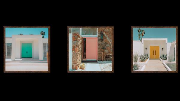 Post Modern Memories Triptych Photography Art   Matej Silecky