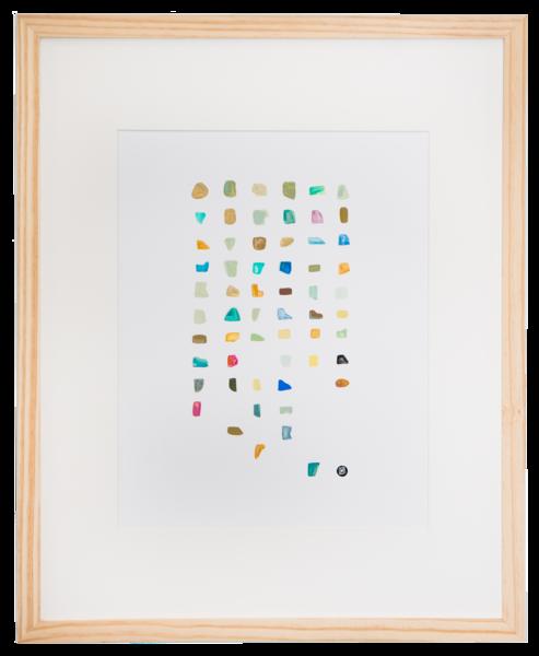Sea Glass I Art | Meredith Steele Art