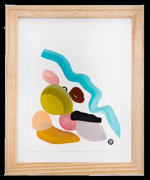 Wailea Rocks Art | Meredith Steele Art