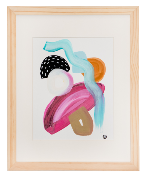 Wailea Snorkel  Art | Meredith Steele Art