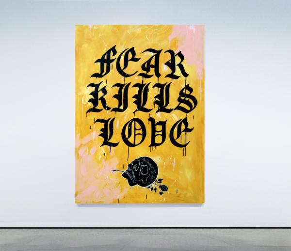Fear Kills Love  Art | GINOZKO