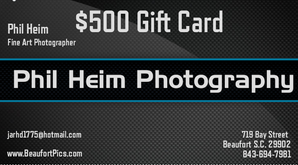 $500 Gift Card | Phil Heim Photography