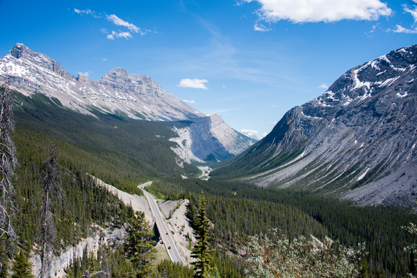 Columbia Icefields Parkway Aerial Photography Art | Eric Hatch