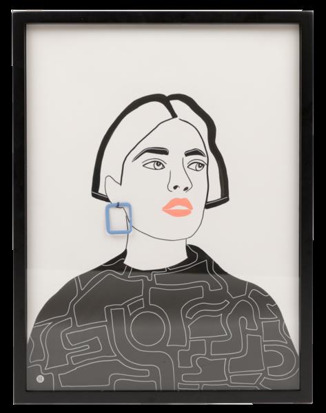 Ruby Art | Meredith Steele Art