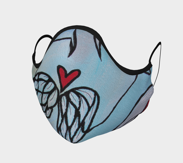 Syncrodestiny Facemask | Consciously Creative Gallery - CTU Inc.