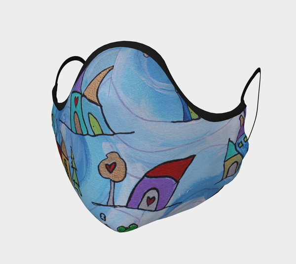 Silver Lining Facemask | Consciously Creative Gallery - CTU Inc.
