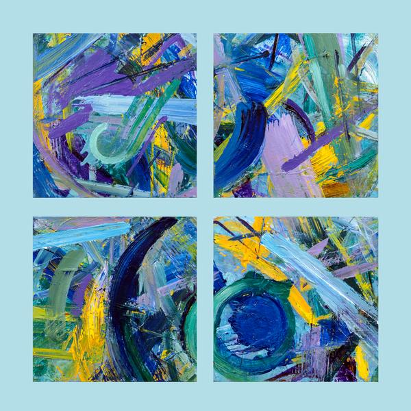 """Parts Of The Whole"" Single Panel Reproduction Art | Daniel Kanow Fine Art"