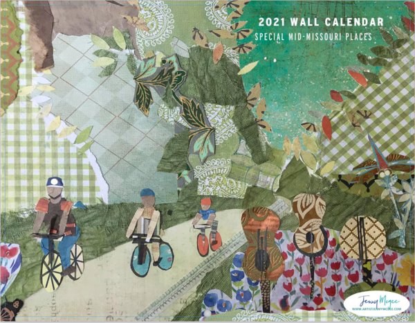 2021 Calendar   Mid Missouri Special Places | Jenny McGee Art