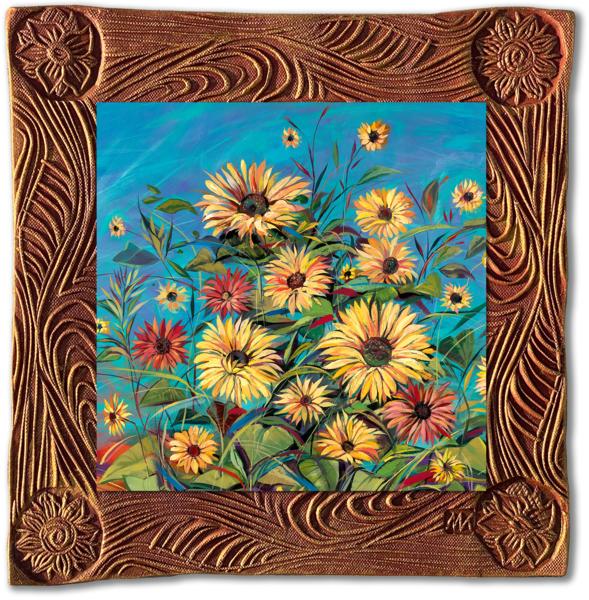 Santa Fe Morning   Sq/Countryside Collection Art | KenarovART Inc
