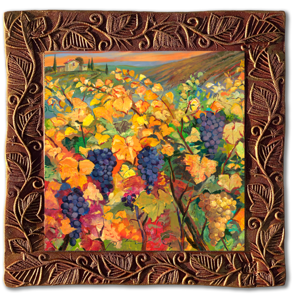 Vineyard I   Sq/Countryside Collection Art | KenarovART Inc