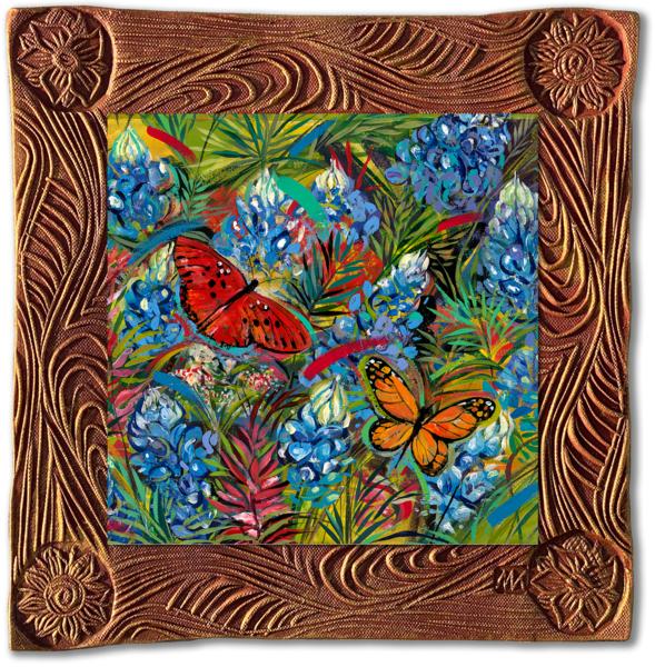 Butterflies   Sq/Countryside Collection Art | KenarovART Inc