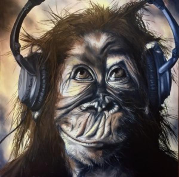 """Monkey Bars"" Open Edition Print | artloversgallery"