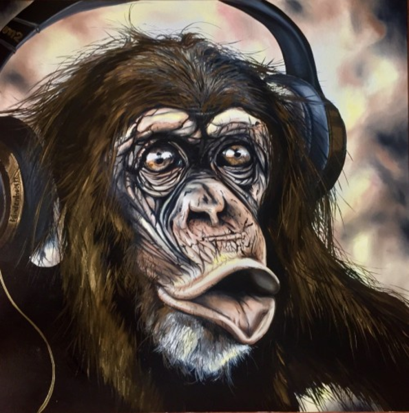 """Brass Monkey"" Open Edition Print | artloversgallery"