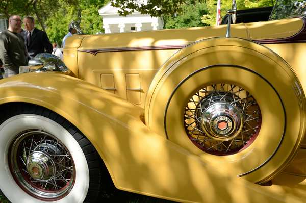 1934 Packard Super Eight Double Cowl Phaeton Photography Art | Eric Hatch