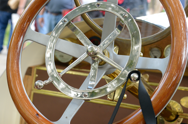 1911 Marmon Steering Wheel Detail Photography Art | Eric Hatch