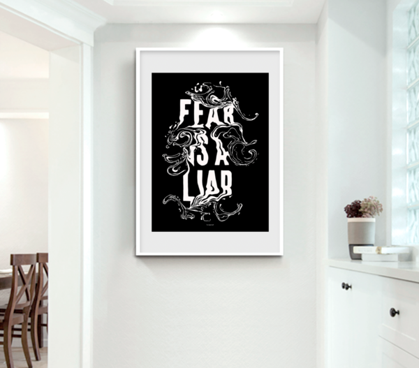 Fear Is A Liar  Art | GINOZKO