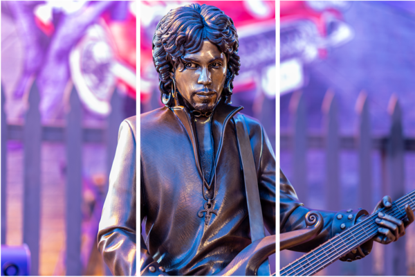 Prince Statue In Henderson   Acrylic Panel Art Photography Art | William Drew Photography