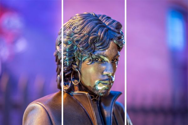 Prince Statue Looking At You   Acrylic Panel Art Photography Art | William Drew Photography